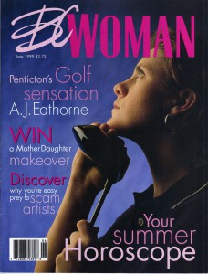 The cover of BC Woman Magazine