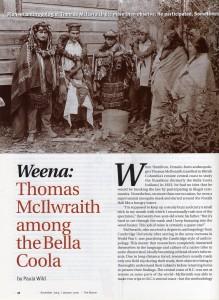 Thomas McIlwraith among the Bella Coola
